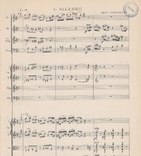 Divertimento pour Orchestre de Chambre