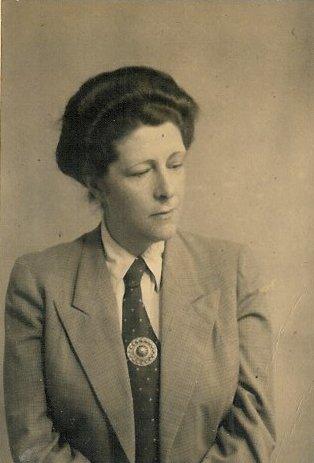 Portrait: Martha Belinfante-Dekker